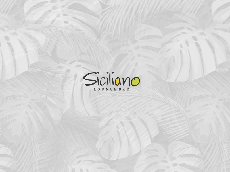 Siciliano Lounge Bar cover psd design artwork art direction art psd photoshop design