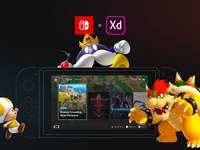 Nintendo Switch Redesign. Full case case switch nintendoswitch nintendo games esports design app screen interactive animation motion ui