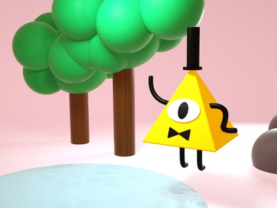 Bill Cipher (3D)