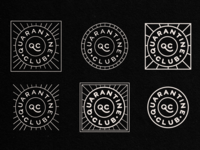 Quarantine Club Badges