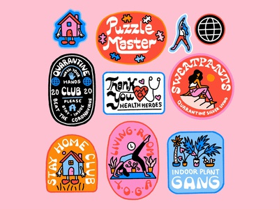 Indoor Badges/Quarantine Club