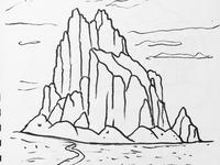 Desert sketch