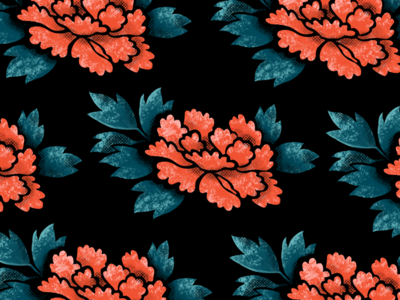 Japanese Floral Pattern