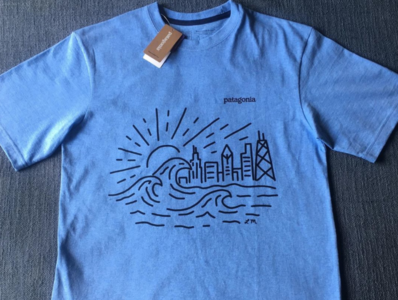 Patagonia Chicago T shirt