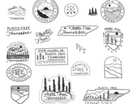 Hand drawn Logo & Branding Rough Sketches