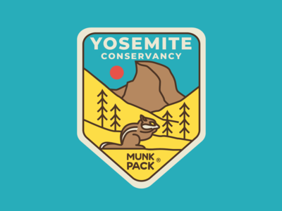 Yosemite Conservatory Badge for Munk Pack