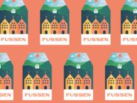 Fussen, Germany Luggage Tag