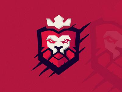 Moscot Lion Logo template logotype design logo darklion gamelogo gameing logo mascotlogo lion scratch illustration art vector lion head moscotlionlogo lion king moscot lionlogo
