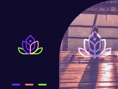 Ahava Kundalini Yoga Logo logonew colorful logodesign logotype yoga logo branding abstract template element illustration icon design beauty spa sign symbol modern vector yoga logo