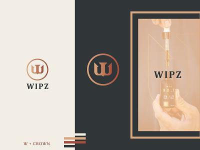 WIPZ Logo letter w lettermark minimalogo customlogo modernlogo lettermarks cbdoil creativelogo brandguildlines brandingdesign logofolio logonew logoworld letterlogo premiumlogo