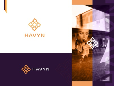 HAVYN awesome logo logo design dribblelogo logos logoinspire branddesigner marketing logobrand brandngagency identitydesign brandidentity branding floral creative abstractlogo luxarylogo premium logo modern elegant logo