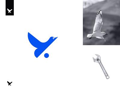 Bird + setting Concept icon birdlogo logomeaning learnlogodesign supplyanddesign logomark negativespacelogo simplycooldesign nextmahamud logogrid thedesigntalks techlogo symbo brandidentity logodesign iconlogo logolearn logoinspirations bird