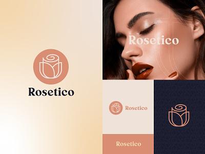 Rosetico branding
