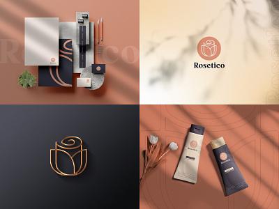 Rosetico Brand Concept branding