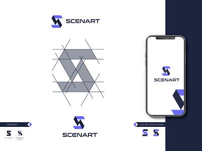 S letter Concept (Unused) dribblelogo