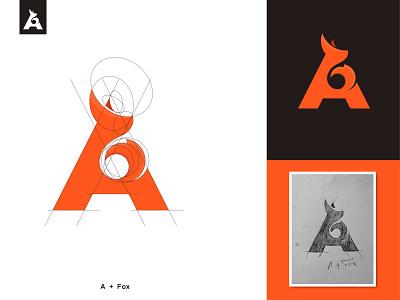 A+Fox 🦊 Combination letter mark. a letter bestlogo minimal modern animal typeface brandidentity nextmahamud logoinspire creativelogo lettermark logomark logodesigner branding greatlogo foxlogo
