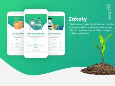 Zakaty App Design