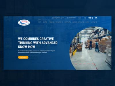 Tri-Chem Website Design