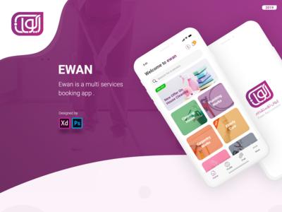 EWAN app design