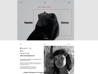 Web main design