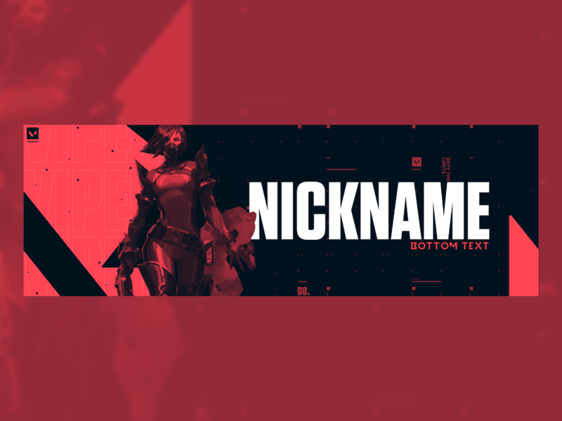 Freebie Header | Valorant (Viper)