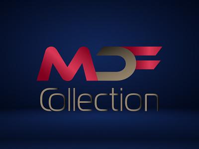 MDF Collection Beauty Fashion Letter marks logo vector logo illustrator illustration icon graphic design design branding