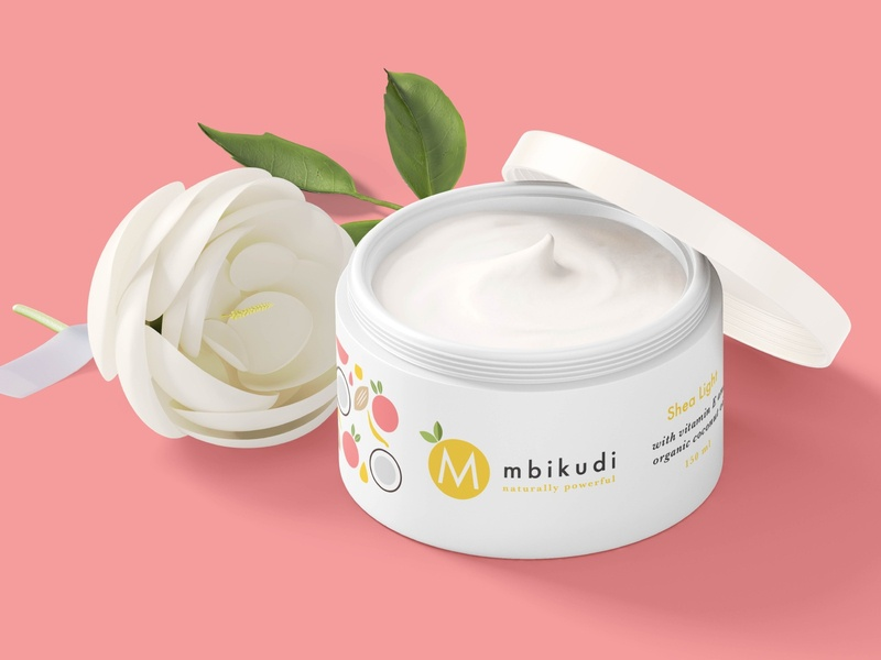 Mbikudi   Branding and packaging design logotype logo illustration sustainable ethical natural beauty packaging packagingdesign packagedesign branding
