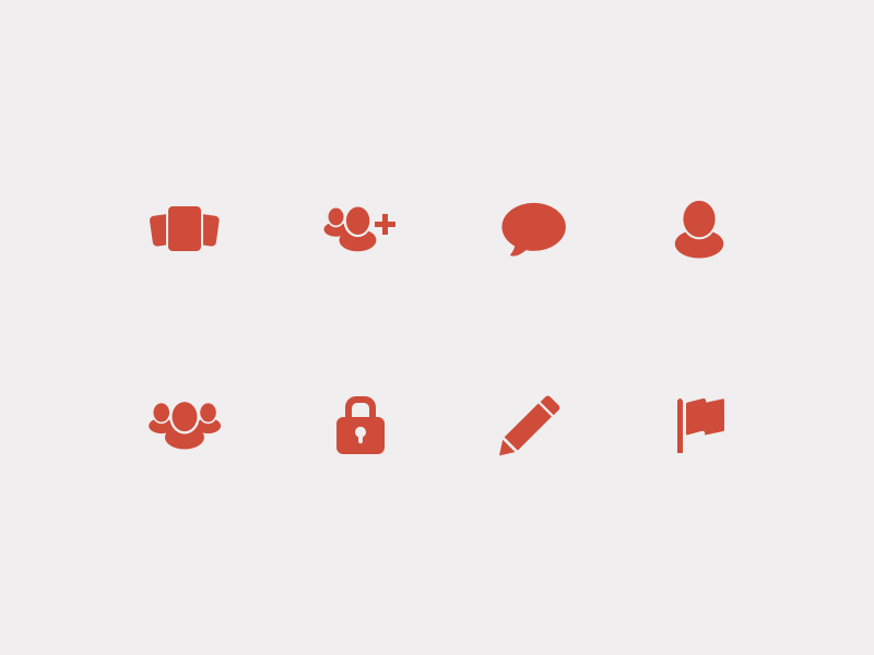 Unravel Icons chat flag password vector freebie sketch free glyphs users feed simple icons