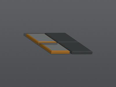 Portal's Battery Blocks blocks scheme block 3d parts part physical component battery industrial