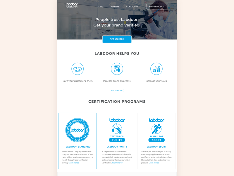Labdoor for brands