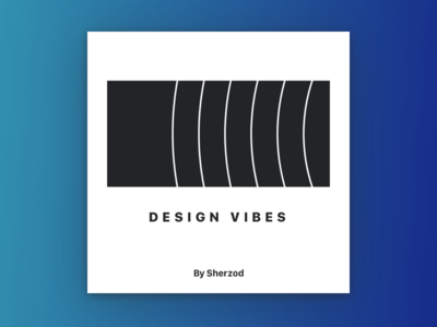 Design Vibes Playlist Cover