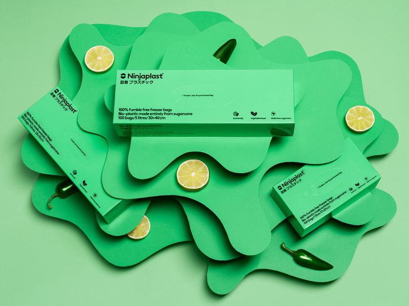 Set Design for Ninjaplast (Paper Craft) handmade ninjaplast photograhy snask set design papercraft paper