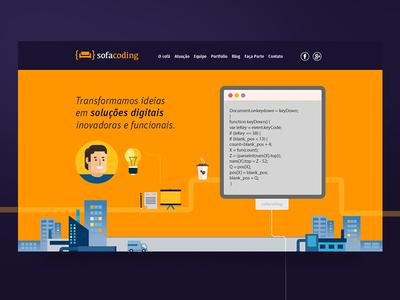 Sofa Coding (Landing page)
