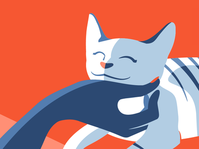 Purrfect Pets vector illustration pet kitten cat