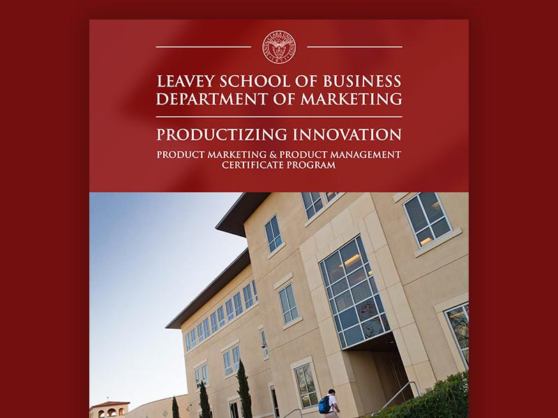 LSB Marketing Certificate Program Pamphlet by Emile Antone - Dribbble