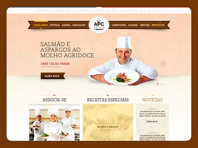 APC Bahia Website - 2014 uxdesign ui design responsive design photoshop grids design art direction