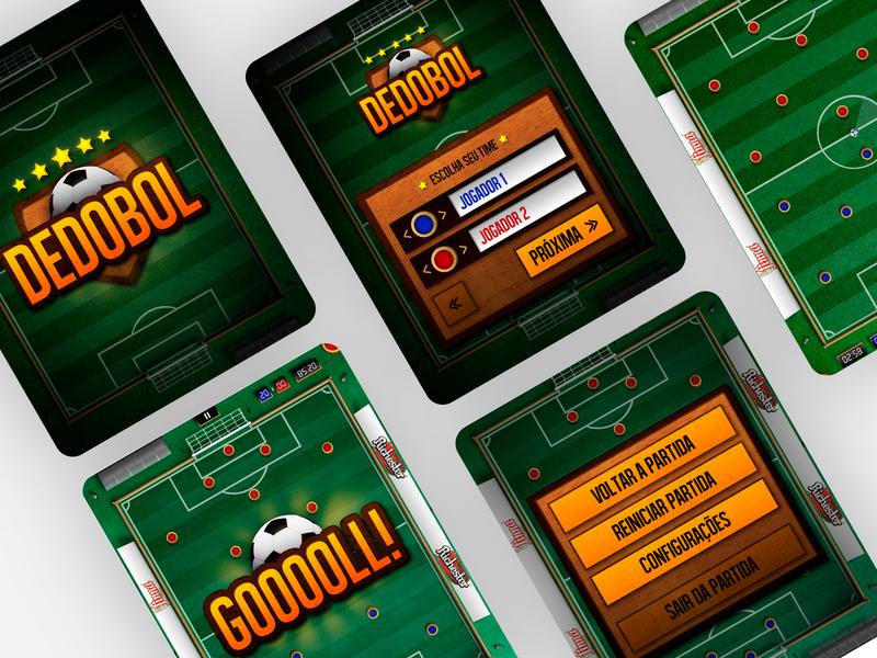 Dedobol Ipad App Gaming - 2014 game ipad tablet mobile app mobile ui uxdesign ui design photoshop design art direction