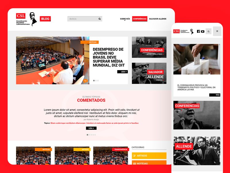 CSL Site - 2015 web ux ui responsive design grids uxdesign ui design photoshop design art direction