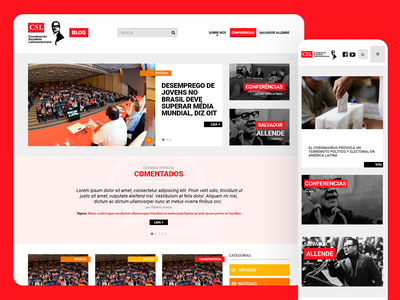 CSL Site - 2015 web ux ui responsive design grids uxdesign ui design photoshop design art direction