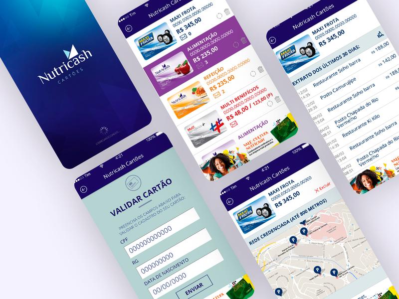 Nutricash Design App IOS and Android - 2015 ux ui responsive design grids uxdesign ui design mobile ui mobile mobile design photoshop design art direction