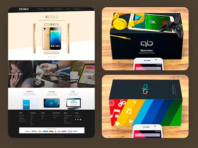 QBex Website and Package Design - 2016 web ux ui responsive design grids uxdesign ui design photoshop design art direction