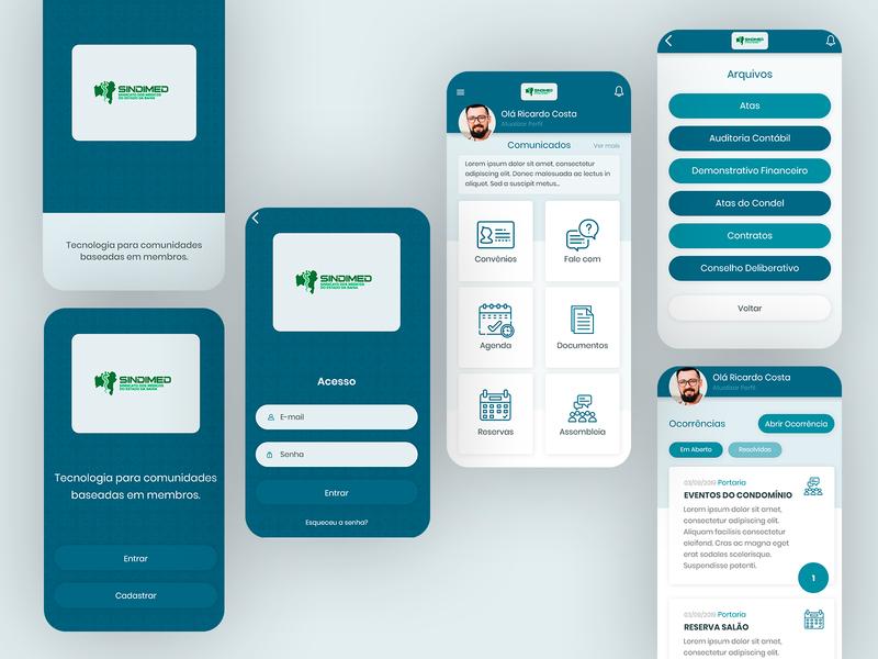 RPSind App UX/UI Design - 2019 adobe xd xd figma mobile ui web ux ui uxdesign responsive design grids ui design design art direction
