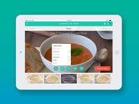 iPad based app for restaurants