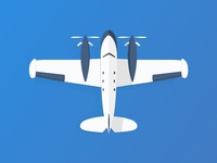 Aeroplane illustration