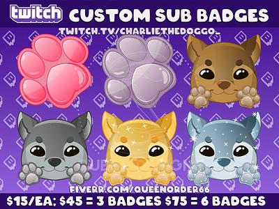 Custom Twitch Sub Badge youtube youtube sub badges youtube badges subbadges sub badge artist twitch sub badges sub badges twitch artist twitch