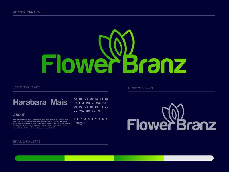 Flower Branz Branding Design