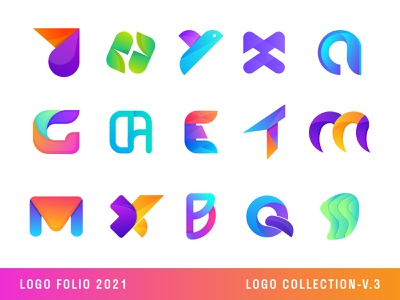 Logo Collection 2021 | Logo Folio 2021  | Modern Logo 3d art 2d 2021 calendar 2021 trend happ new year 2021 logo trends 2021 graphic design monogram logo abstract logo branding and identity modern logo brand identity colorful logo gradient logo agency logo logo designer logo collection 2021 logo folio 2021 logo design logo