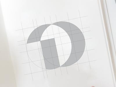 Logo Sketch (D+Bin) logo concepts logo sketching sketches grid system grid design logodesign logo mark lettermark logo designer bin logo sketch grid logo illustration logo design monogram logo logo and branding branding and identity brand identity modern logo branding agency