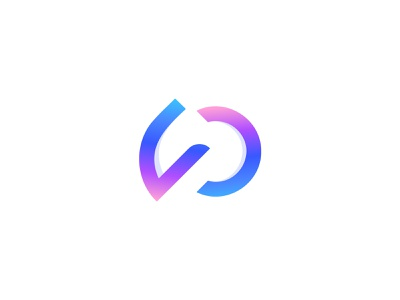 P+D Letter - Pedize Logo symbol icon lettermark grid logo gradient logo colorful logo logo logo design monogram logo logo and branding branding and identity brand identity branding agency modern logo dp letter p logo p letter logo d logo d letter logo