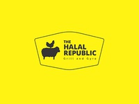 TheHalalRepublic - Food Restaurant Logo